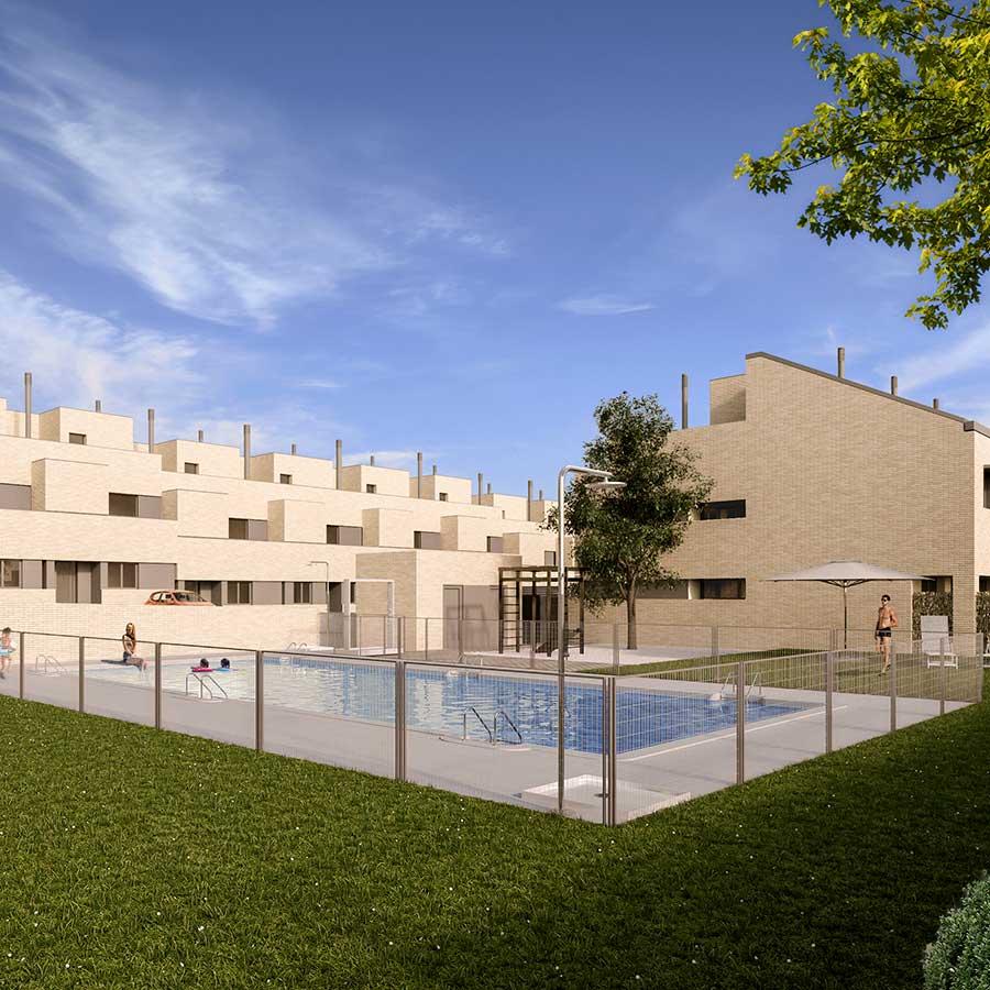 39 Viviendas unifamiliares en Rivas. Madrid