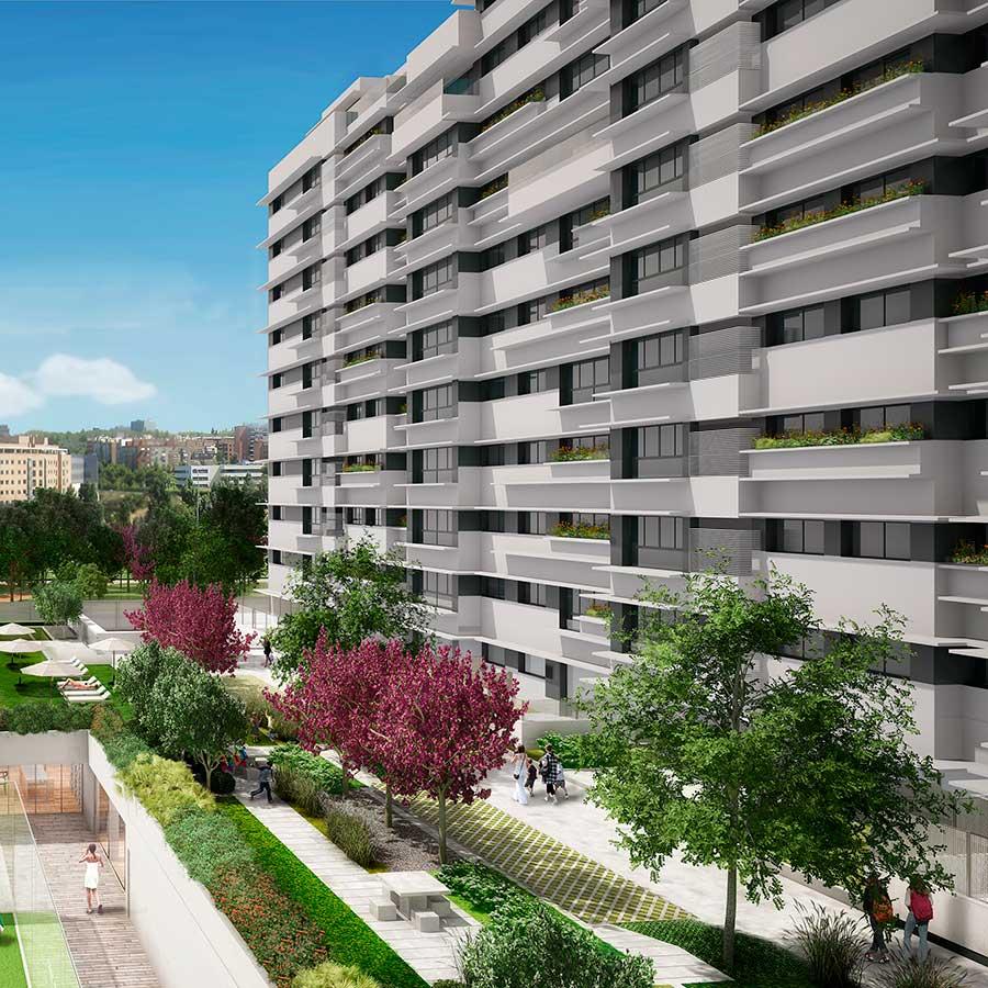 205 Viviendas en la calle Antonio López, 195. Madrid