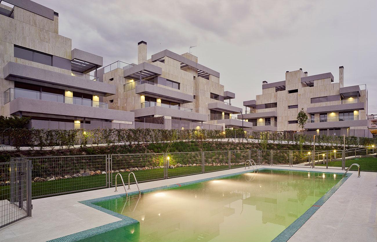 18 Viviendas en El barrial. Aravaca. Madrid