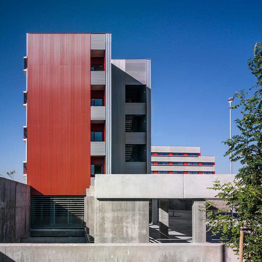 Residencia Universitaria en el Campus de Getafe de la Universidad Carlos III. Madrid