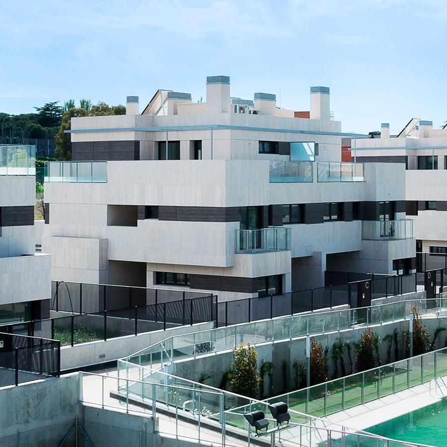 15 Viviendas unifamiliares en Valdemarín. Madrid